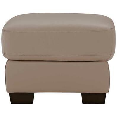 LUCAS Leather Ottoman
