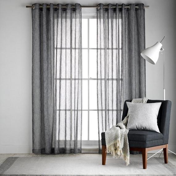 BARDWELL Sheer Eyelet Curtain