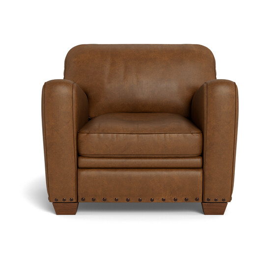 ESTATE Leather Armchair