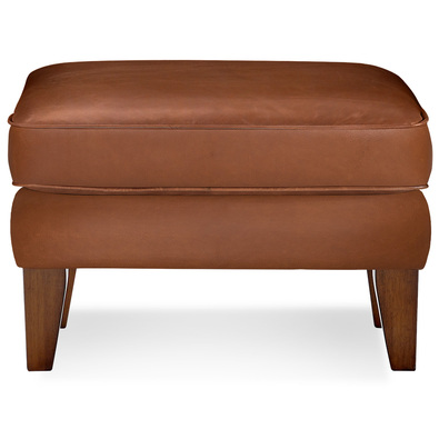 CLASSIC WING Leather Ottoman