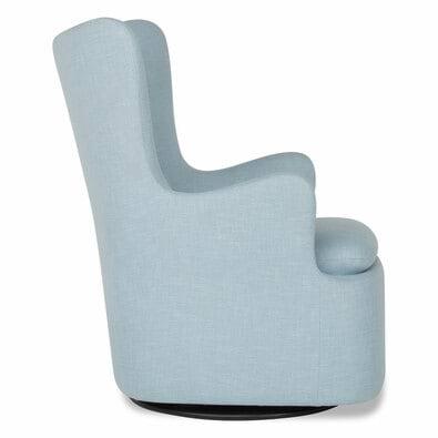 GLIDER Fabric Armchair