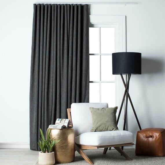 LYNDON Blockout S-Fold Curtain