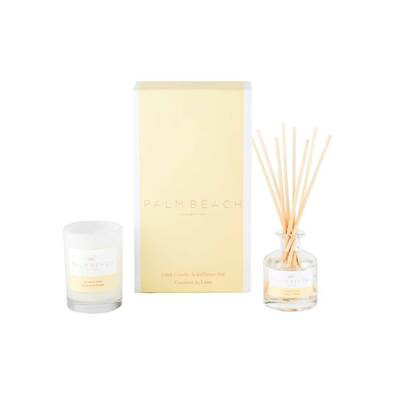 PALM BEACH COLLECTION Mini Candle & Diffuser Gift Pack