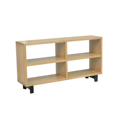 ALPS Console Table,  Black & Natural