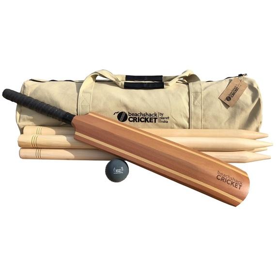 Beachshack Cricket Outdoor Game 12cm Natural (D)
