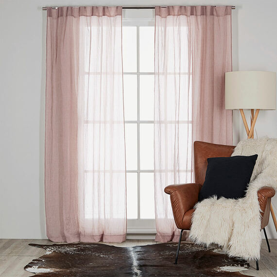 ANGUS Light Filtering Tab Top Curtain