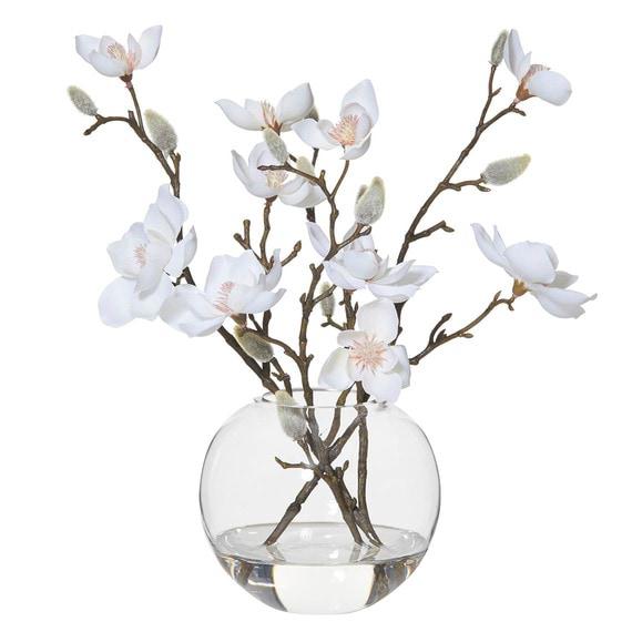 ROGUE Magnolia Flower Vase