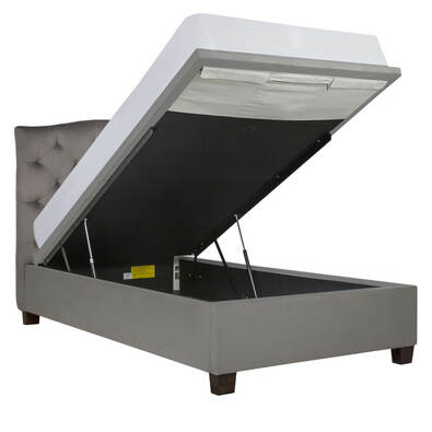 ANDI Classic Bell Gas Lift Bed