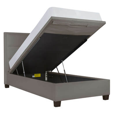 ANDI Modern Channel Gas Lift Bed