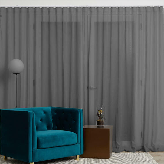 MINERAL Sheer S-Fold Curtain