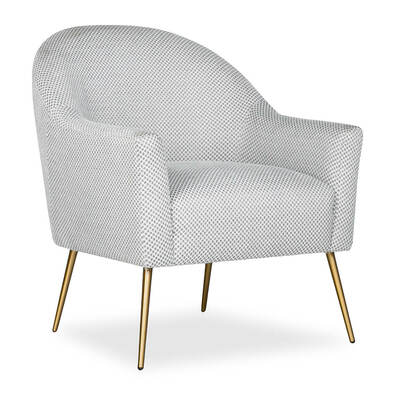 GEORGIA Fabric Armchair