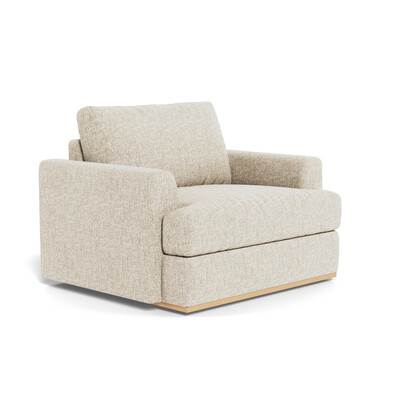 NIXON Fabric Armchair
