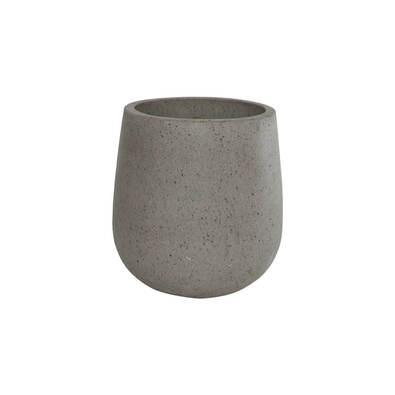 FUSAKO Small Planter, Grey