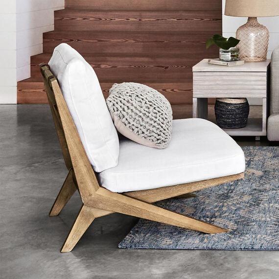 PALM SPRINGS Velvet Armchair