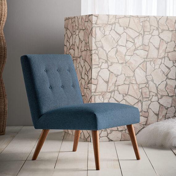 LUNA Velvet Armchair