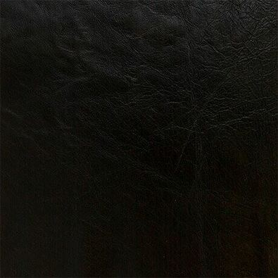 ROCKER Leather Ottoman