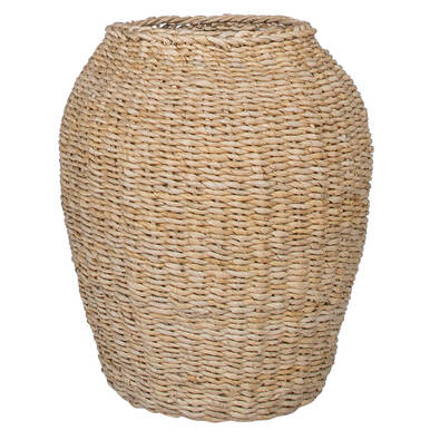ZAHLIA Large Basket, Natural