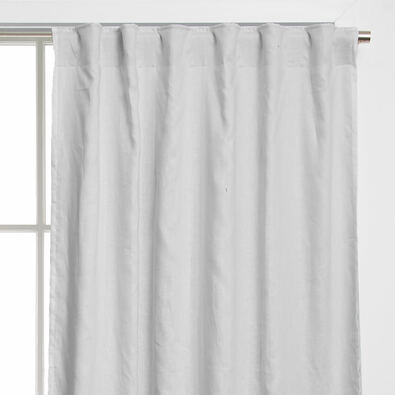 LINEN LINED Tab Top Curtain