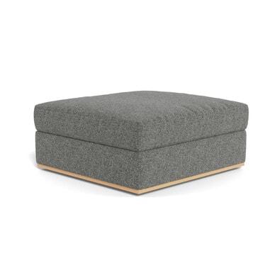 NIXON Fabric Storage Ottoman