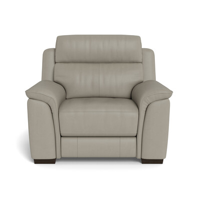 ASHER Leather Electric Recliner Armchair