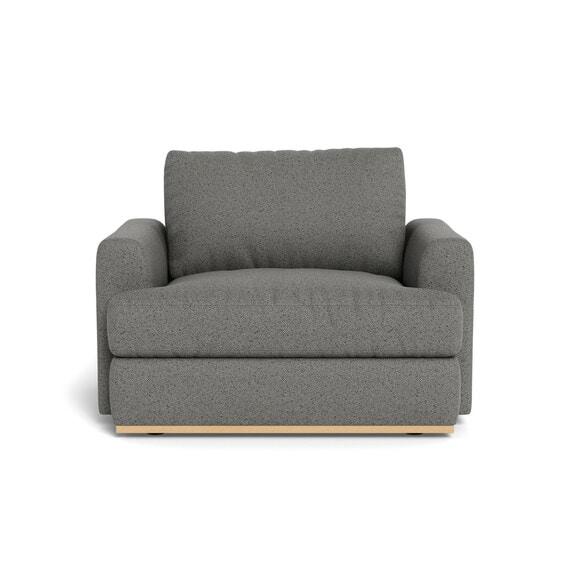 NIXON Fabric Armchair