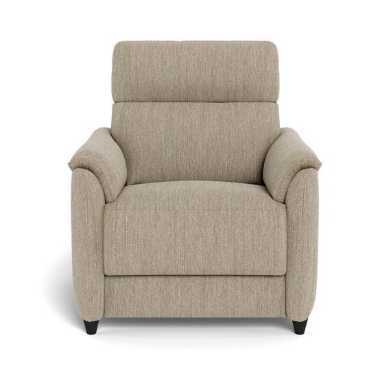 DEXTER Fabric Battery Recliner Armchair