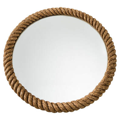 CURLED ROPE Mirror
