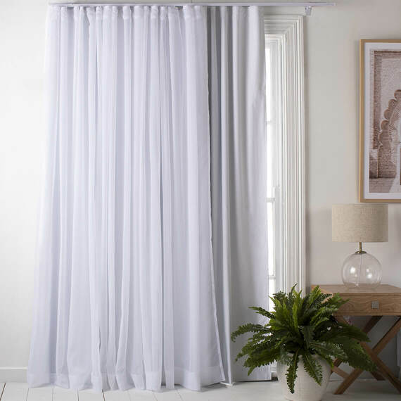 S-FOLD Blockout Curtain Liner