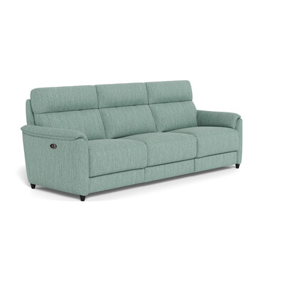 DEXTER Fabric Battery Recliner Sofa