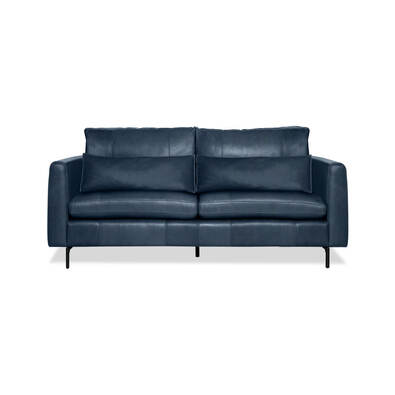 HENDRICKS Leather Sofa