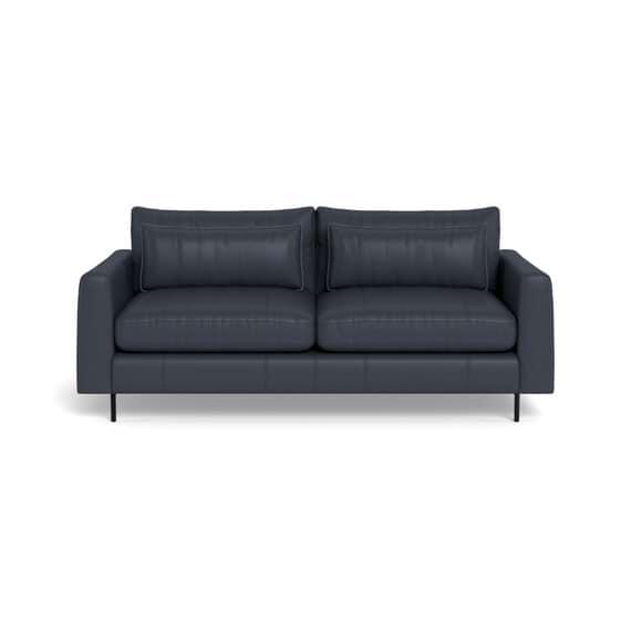 HENDRICKS Leather Sofa