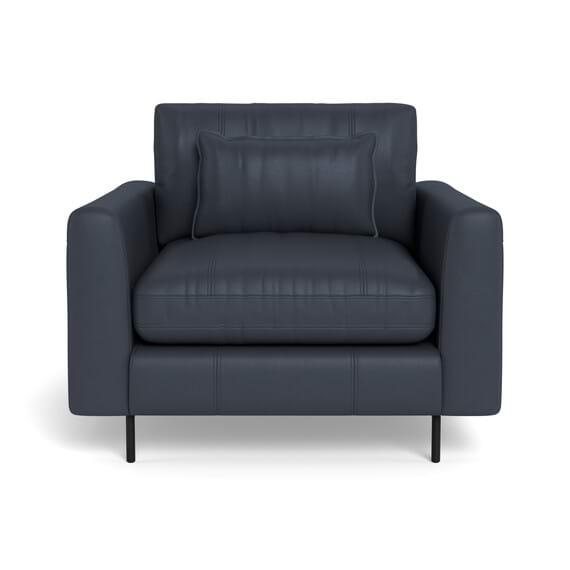 HENDRICKS Leather Armchair