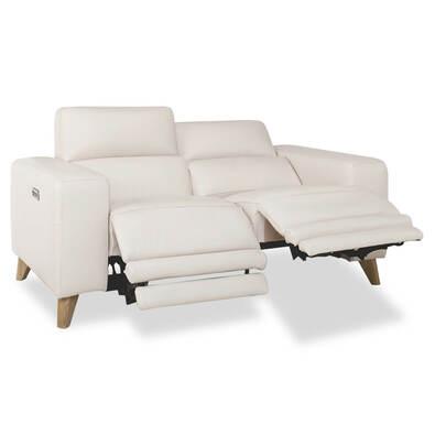 STERLING Leather Electric Recliner Sofa