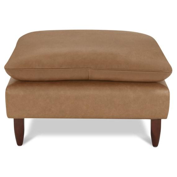 ETON Leather Ottoman