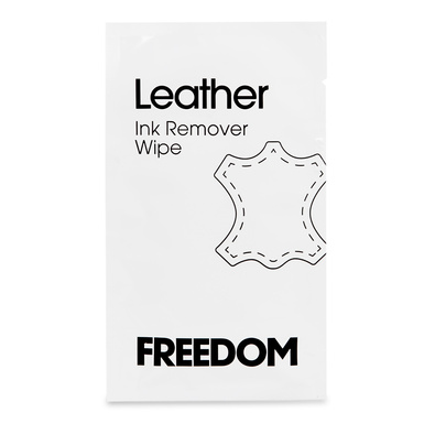 FREEDOM Leather Ink Remover Wipe