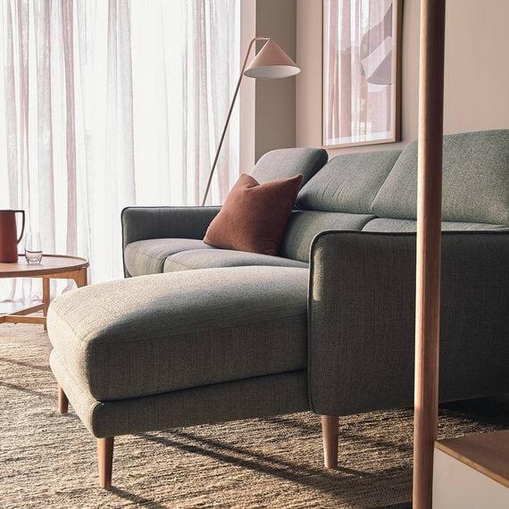 HUGO Fabric Electric Recliner Modular Sofa