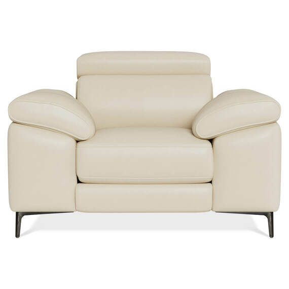 CORA Leather Electric Recliner Armchair