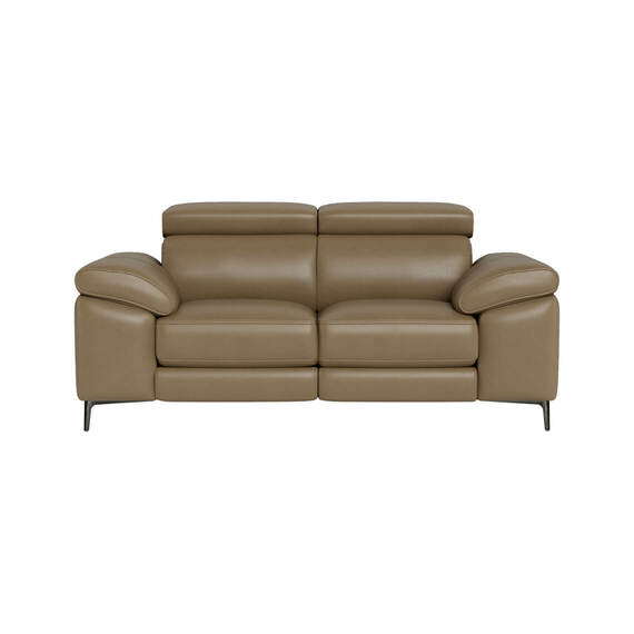 CORA Leather Electric Recliner Sofa