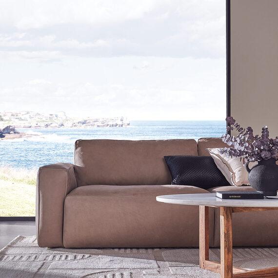 LOLA Leather Sofa