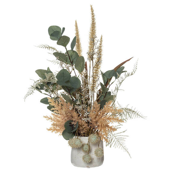 DRIED LOOK Flower Arrangement