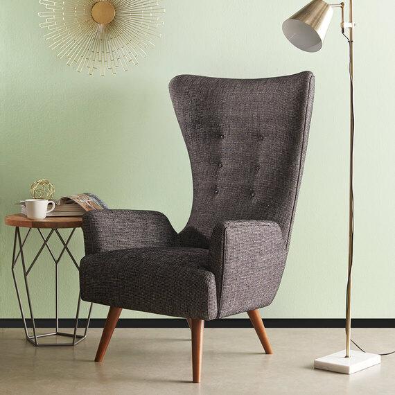 GIRAFFE Fabric Occasional Armchair