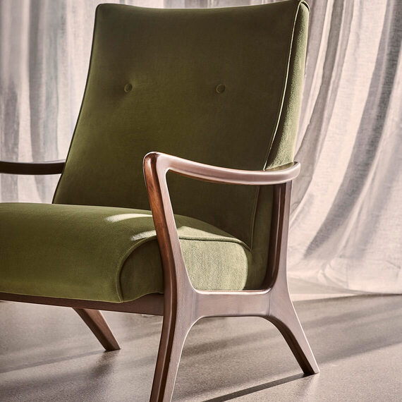 PENNY Fabric Occasional Armchair