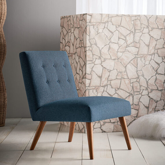 LUNA Fabric Occasional Chair