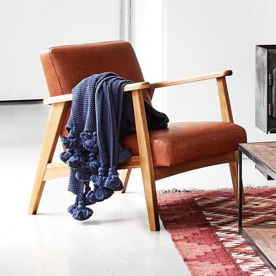 DEN Fabric Occasional Armchair