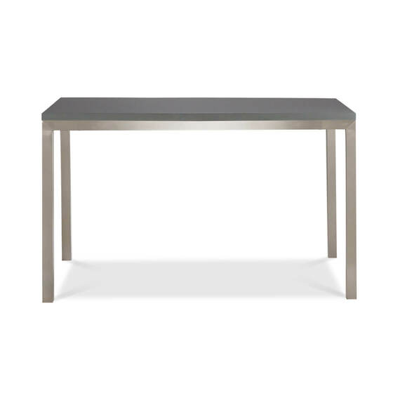 WORKER Desk Matte Grey Top