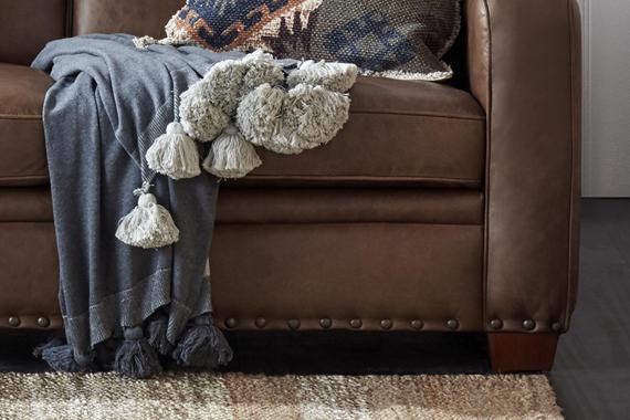 2 Seat Leather Estate Sofa, Freedom Leather Sofa Review